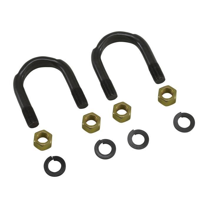 "Yukon Gear - Yukon Gear Universal Joint U-Bolt Kit, 1350 & 1410, 3/8"" x 1-11/16"" YY UB-004"