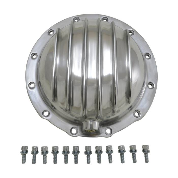 Yukon Gear - Yukon Gear Differential Cover, Finned Polished Aluminum, For AMC Model 20 YP C2-M20