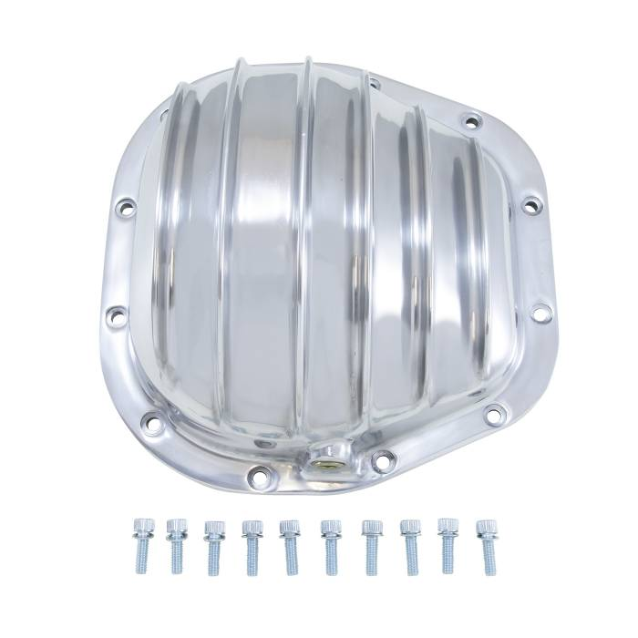 """Yukon Gear - Yukon Gear Differential Cover, Polished Aluminum, Ford 10.25"""" And 10.5"""" Ford YP C2-F10.25"""