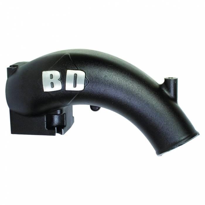 BD Diesel - BD Diesel X-Flow Power Intake Elbow (Black) - Dodge 1998-2002 5.9L 24-valve 1041550