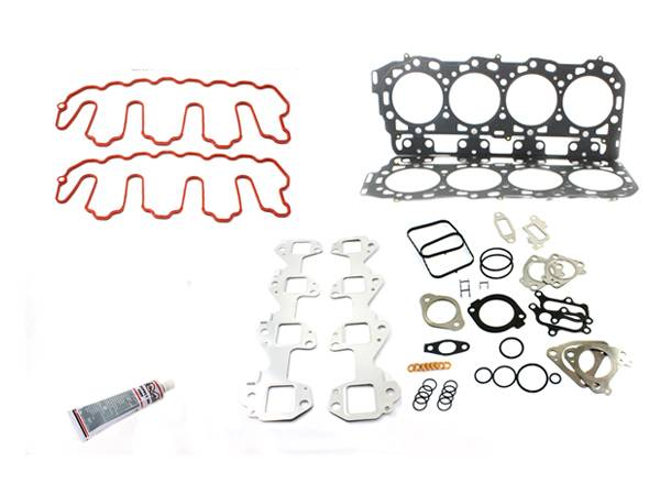 Merchant Automotive - LBZ Duramax Head Gasket Kit with Exhaust Manifold Gaskets, no bolts