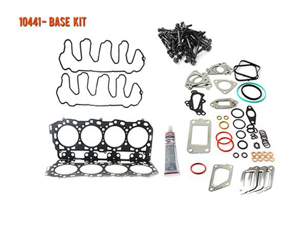 Merchant Automotive - LML Duramax Head Gasket Base Kit with OEM Head Bolts,  2011-2016