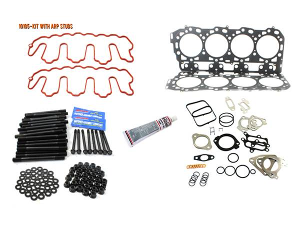 Merchant Automotive - LBZ Head Gasket Kit With ARP Studs, Duramax
