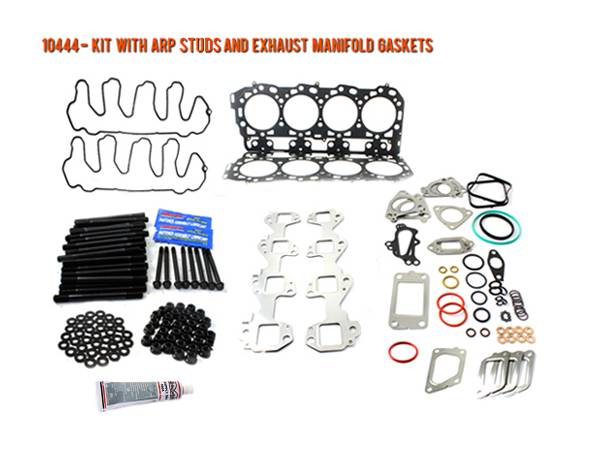 Merchant Automotive - LML Duramax Head Gasket Kit with ARP Studs and Exhaust Manifold Gaskets, 2011-2016
