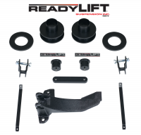 ReadyLift - ReadyLift 2005-07 FORD F250/F350/F450 2.5'' Front Leveling Kit with Track Bar Bracket 66-2515