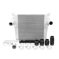 Turbo Chargers & Components - Intercoolers and Pipes - Mishimoto - Mishimoto Dodge 6.7L Cummins Intercooler Kit MMINT-RAM-10KSL