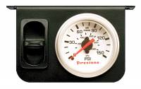 Steering And Suspension - Suspension Parts - Firestone Ride-Rite - Firestone Ride-Rite Metal Single Electric White Gauge 2229
